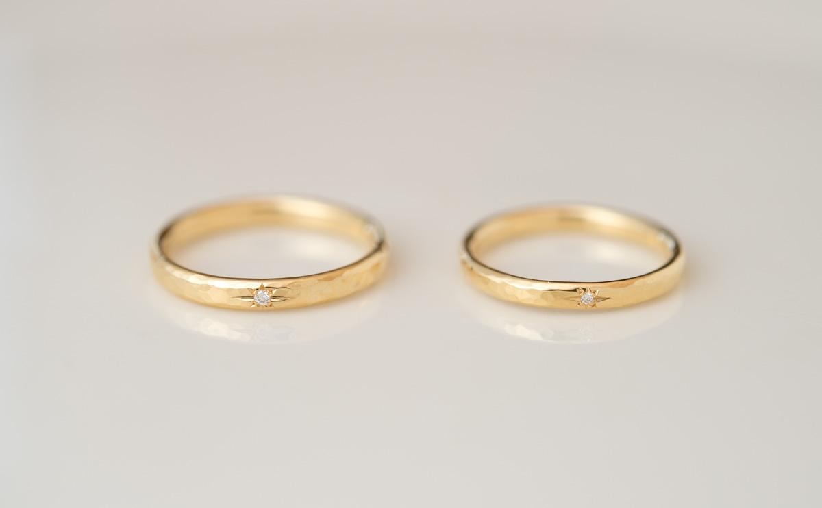 結婚指輪(マリッジリング)ハンマード