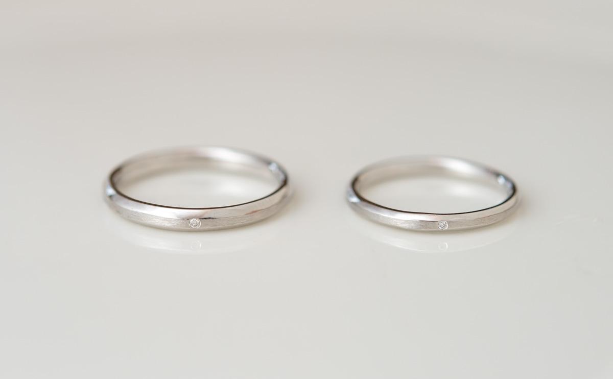 結婚指輪(マリッジリング)レール
