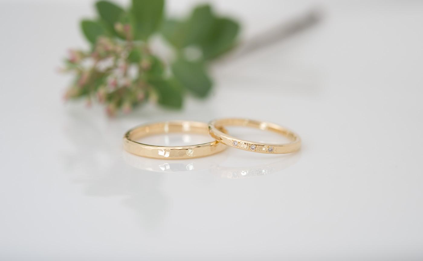 結婚指輪・婚約指輪の製作について