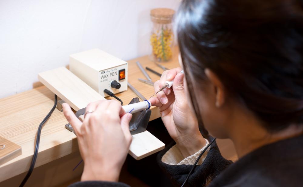 手作りジュエリー体験教室
