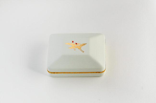 鶴の指輪ケース