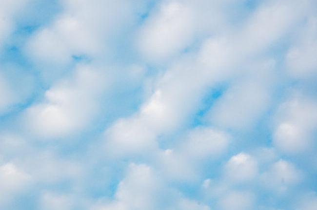 波状雲 アップ