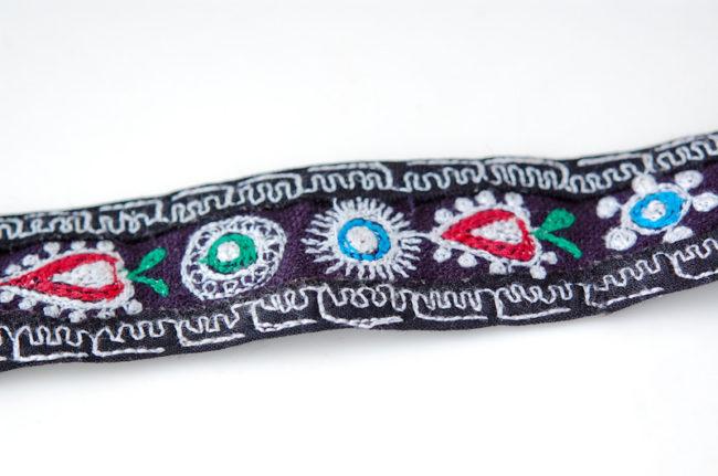 ペルーのチバイ村で購入した刺繍のベルト