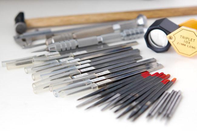 タガネや道具たち
