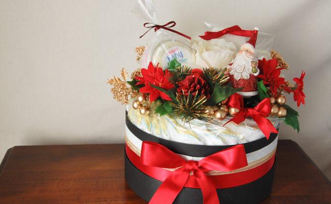 おむつケーキ クリスマスver