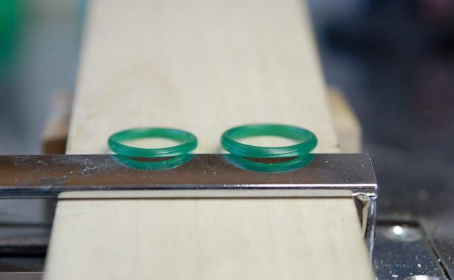 結婚指輪のWAX原型