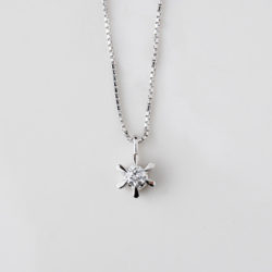 ダイヤモンドペンダントのプチリフォーム
