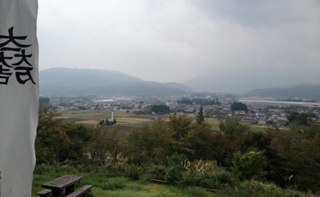 石田三成の陣地