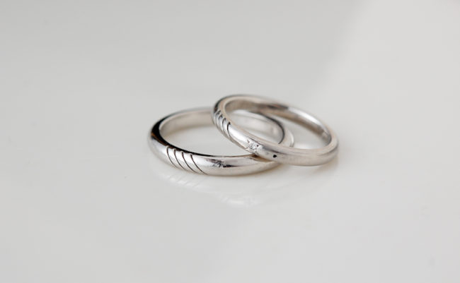 妹の結婚指輪(ビフォー)