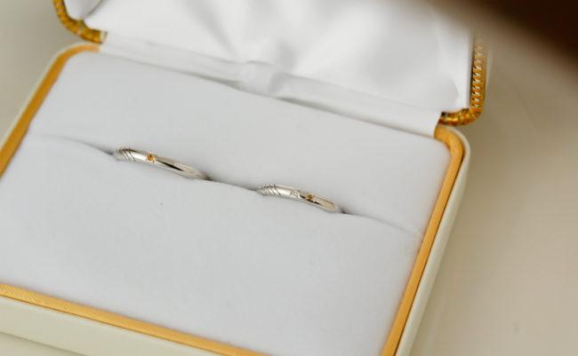 妹の結婚指輪(アフター)