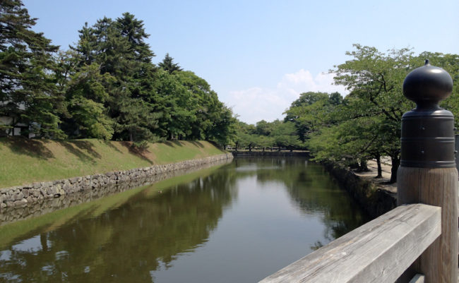 彦根城のお堀