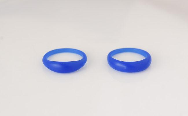 ぷっくりリングのワックス原型