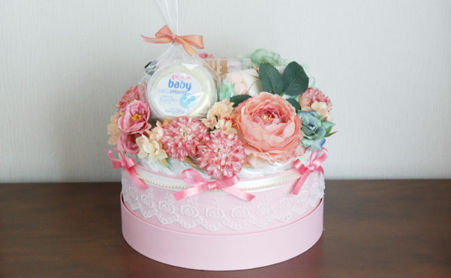 おむつケーキ 4
