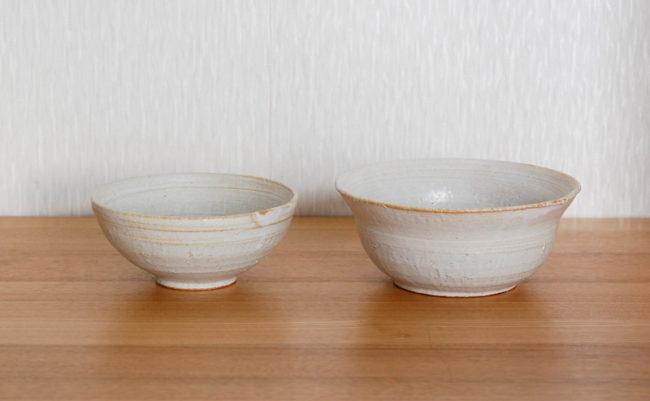 手作りの茶碗