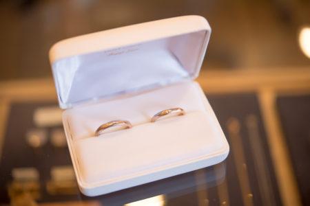 ふたりでつくる結婚指輪 完成