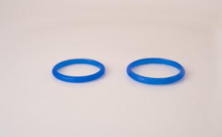 ふたりでつくる結婚指輪 ワックス原型