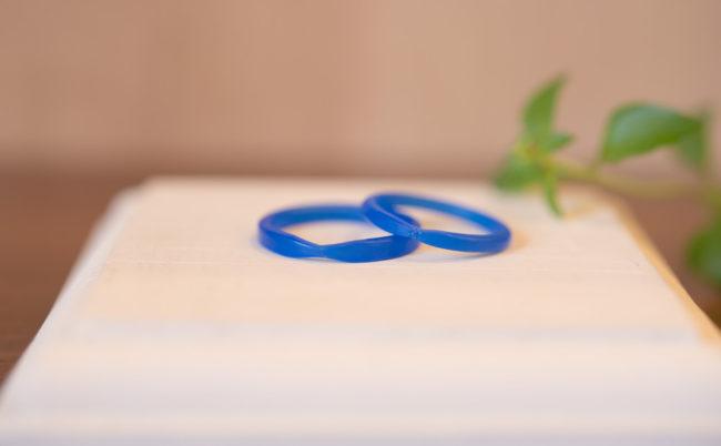 ふたりでつくる結婚指輪 原型完成