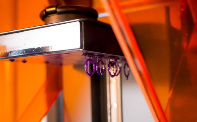 3Dプリンターによるジュエリー製作